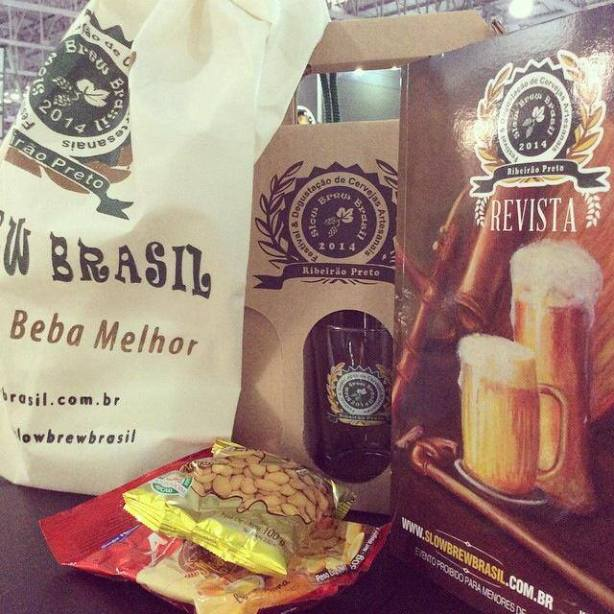 kit do evento - Foto slow brew brasil